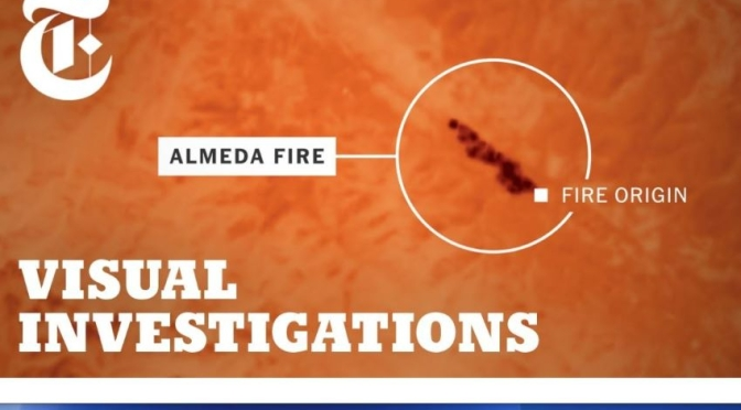 Video: 'Origins Of The Destructive Almeda Wildfire In Oregon' (NYT)