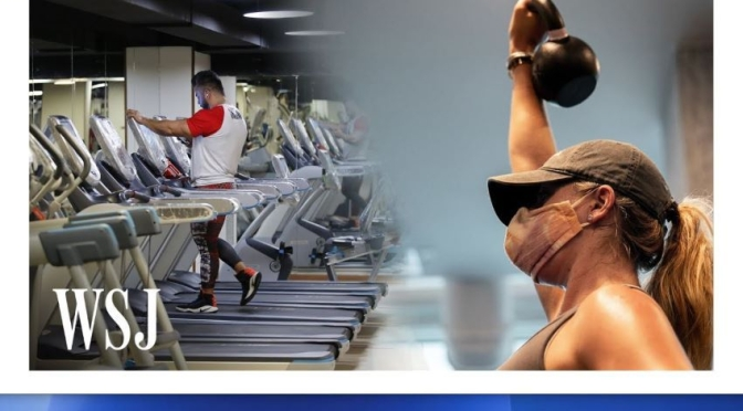 Fitness Industry: 'How Gyms Are Preparing For The Future' (WSJ Video)