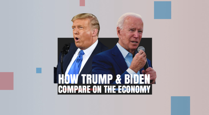 Election 2020: 'How Trump And Biden Compare on The Economy' (WSJ Video)