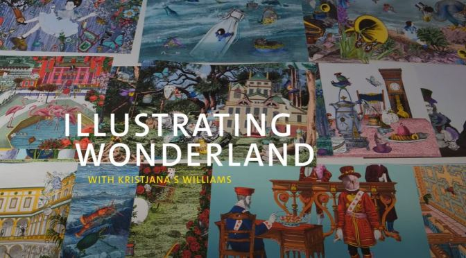 "Video Profile: Icelandic Illustrator Kristjana S. Williams In ""Wonderland"""