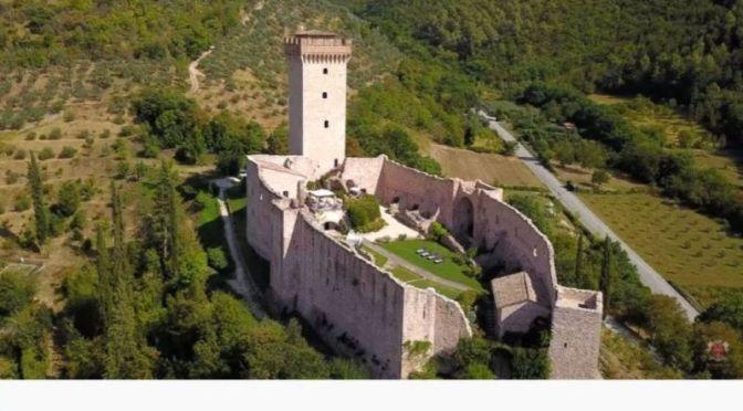 """Italian Estate Video Tours: """"Castello Torrito"""", Umbria"""