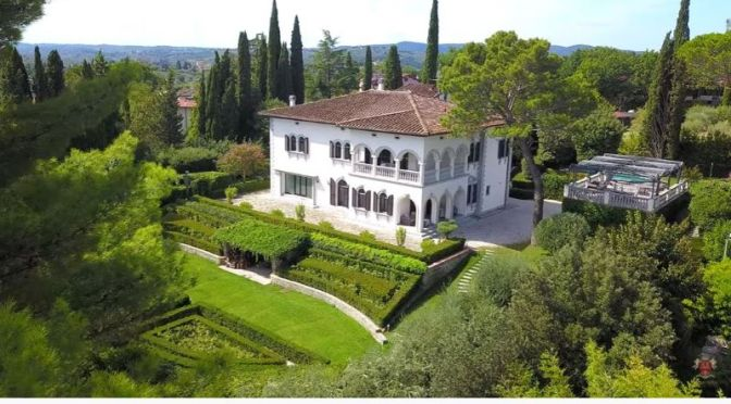 "Italian Villa Video Tour: ""Bellosguardo, Florence"""