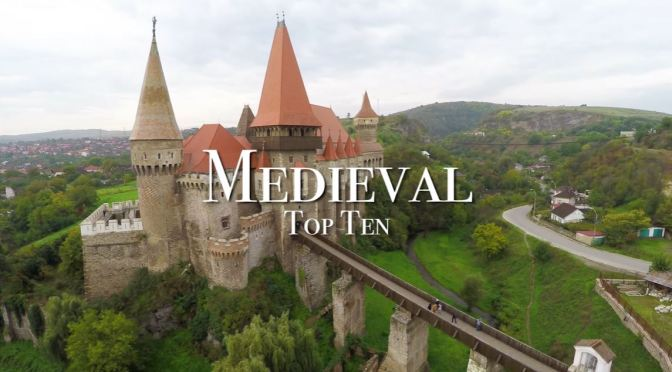 """Top New Travel Videos: """"Medieval Europe – Top Ten Places To Visit"""" (2020)"""