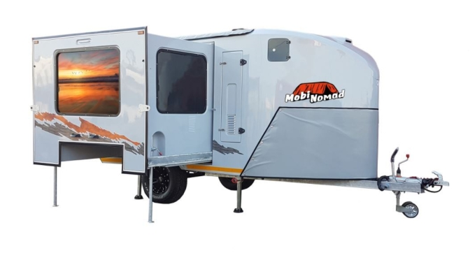 "Top Camper Trailers: ""Mobi Nomad – Slide Out"" (2020)"