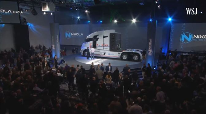 Electric Vehicles: 'Nikola & The Investment Race For The Next Tesla' (WSJ Video)