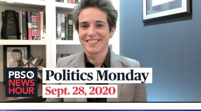 Politics Monday: Amy Walter And Errin Haines Trump-Biden Debate (PBS)