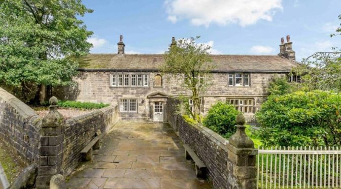 "English Country Homes: 'Ponden Hall' – Inspiration For  ""WUTHERING HEIGHTS"" By Emily Brontë In 1847"