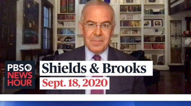 Political News: Shields & Brooks On The Covid-19 Vaccine Debate (PBS Video)