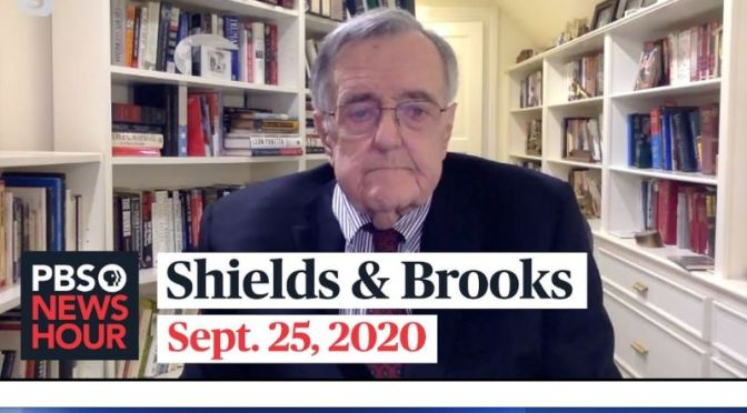 Political News: 'Shields & Brooks' On Supreme Court Vacancy Debate (Video)