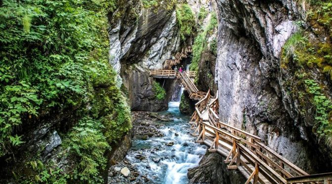 Top Virtual Walk Videos: 'Sigmund Thun Klamm' Natural Park In Austria