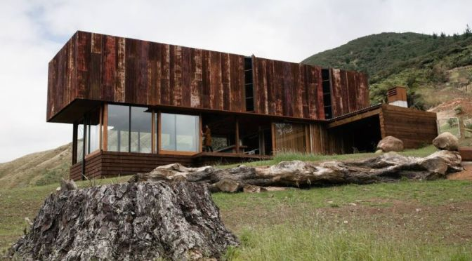 """Innovative Home Design: """"K Valley House"""" In New Zealand (Video Tour)"""