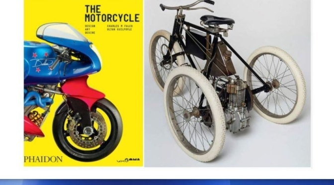 New Design Books: 'The Motorcycle – Design, Art, Desire' (Phaidon / Dec 2020)