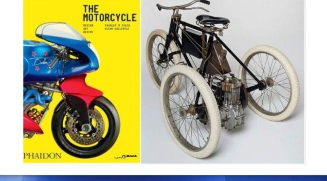 New Design Books: 'The Motorcycle – Design, Art, Desire' (Phaidon / Dec 2020)