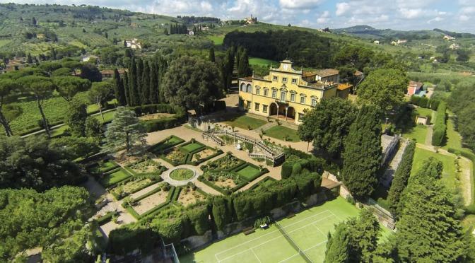 """Italian Estate Video Tours: """"Villa Antinori Di Monte Aguglioni"""" In Tuscany"""