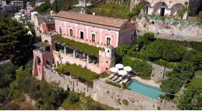 "Italian Estate Video Tour: ""Villa Orseola"" In Positano"