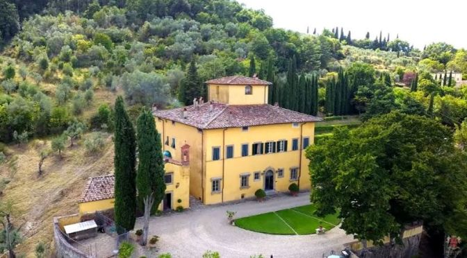 Italian Estate Tour Video: 'Villa Padronale Arezzo'
