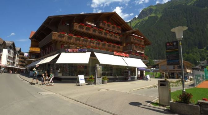 Virtual Walking Tours: 'Wengen, Switzerland'
