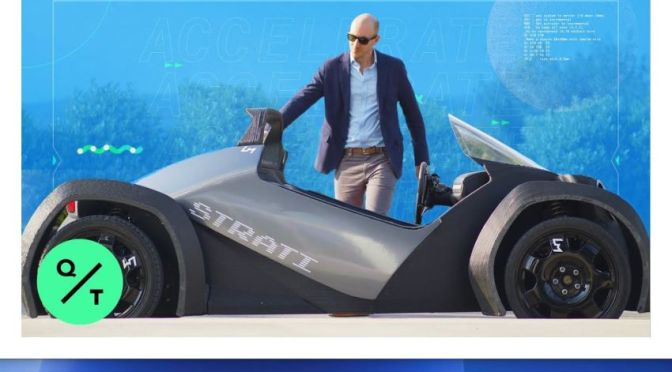 Technology Video: Is A 3D-Printed Car In The Future?