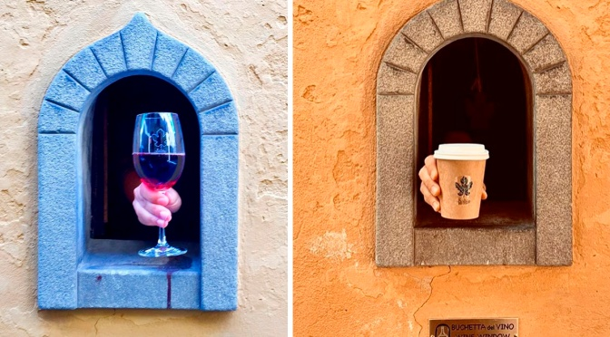 "Culture Podcast: ""Wine Windows Of Florence"" Date Back To 17th Century"