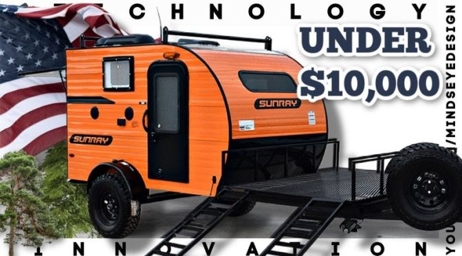 Camping Design: 'Top 10 Mini Camper Trailers, All Under 15′ & $10,000' (Video)