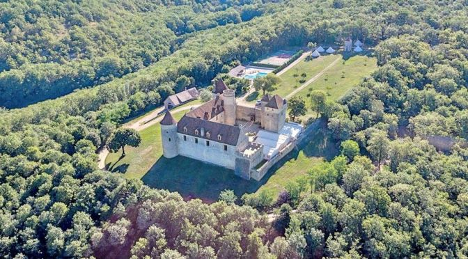 French Castle Video Tour: 14th C. 'Chateau Pechrigal'