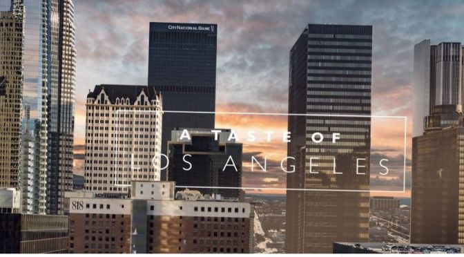 Timelapse Travel Video: 'A Taste Of Los Angeles' (2020)