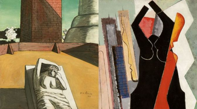 Art History Video: 'De Chirico & Man Ray's Pre-WWI 'New Modernity'