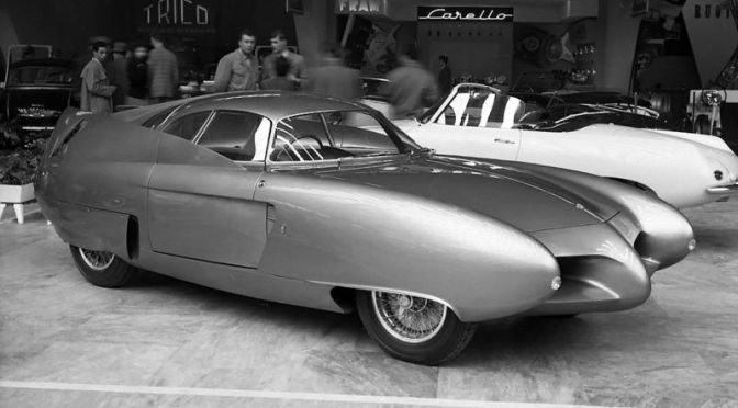 Legendary Automobiles: The 'Alpha Romeo B.A.T. Concept Cars' Of 1953-55