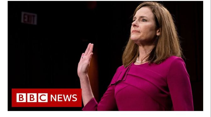 Political News & Analysis: Judge Amy Coney Barrett Hearing At Senate (Video)