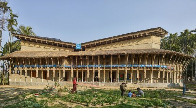Sustainable Architecture: 'Anandaloy In Bangladesh' – Made of Bamboo & Mud