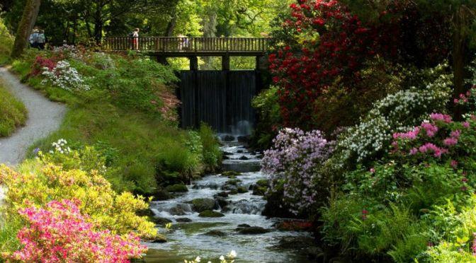 Travel Tours: 'Bodnant Garden, England' (Video)