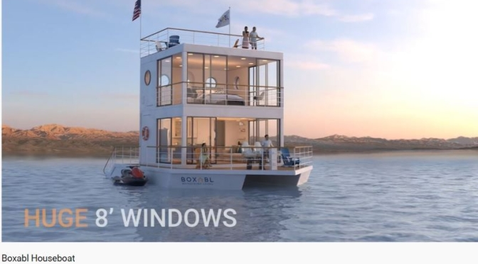 Prefab Modular Homes: 'Boxabl Houseboat' (Video)
