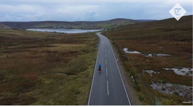 Travel Videos: 'Cycling The Length Of England'