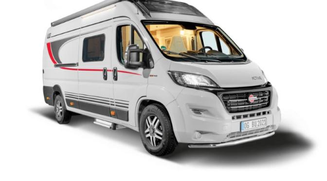 Top New Camper Vans: '2021 Bürstner Eliseo'