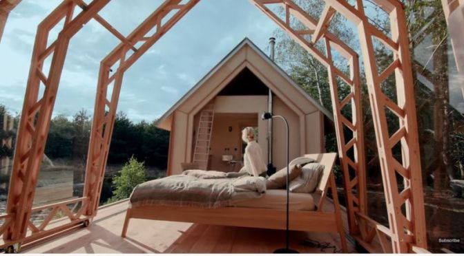 Top Architectural Design: 'Cabin ANNA' In Eindhoven, Netherlands (Video)