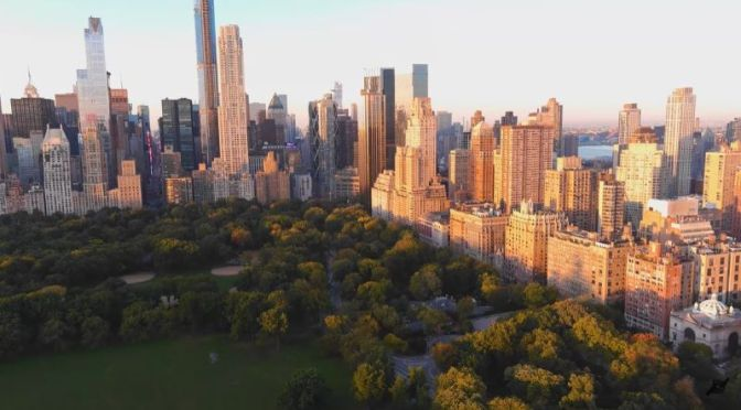 Top Aerial Travel Video: 'Central Park – Columbus Circle, New York City'