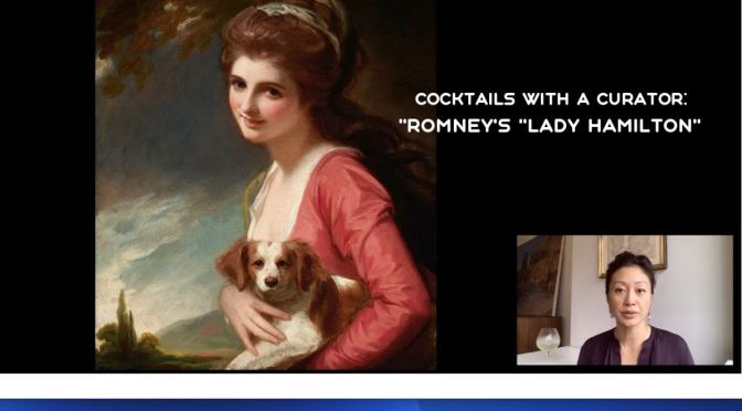 "Cocktails With A Curator: 'Romney's ""Lady Hamilton"""