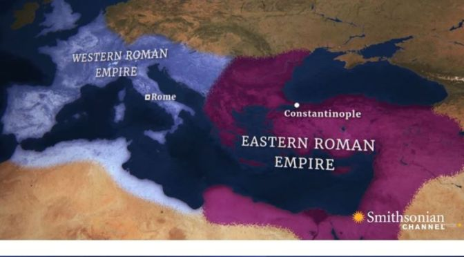 History: 'Constantine's Death Splits The Roman Empire' (Smithsonian)