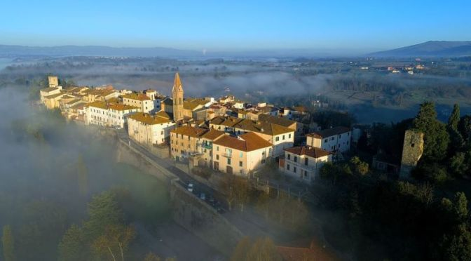 Top New Travel Videos: 'Early Morning Fog' Near Laterina In Tuscany, Italy