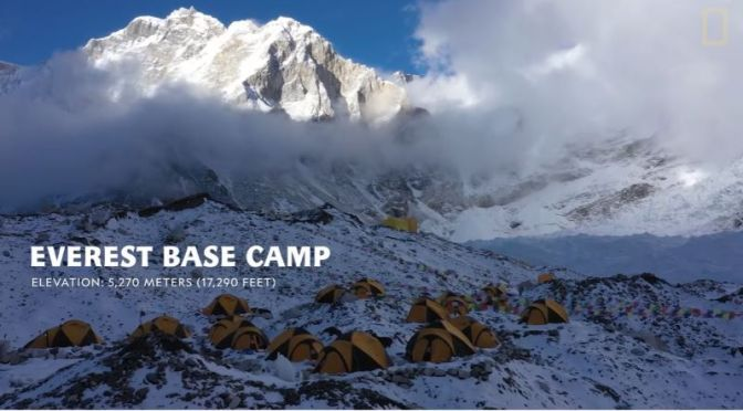 Science & Exploration: 'High Altitude Biology On Mount Everest' (Video)