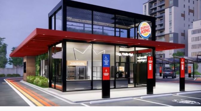 Tomorrow's Restaurant: Multiple Drive-Thru Lanes & Seatless Dining (Video)