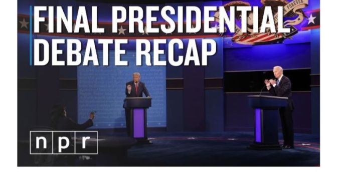 2020 Election Video: 'Final Presidential Debate Recap'