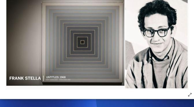 Artist Profiles: 84-Year Old American Minimalist Frank Stella (Video)