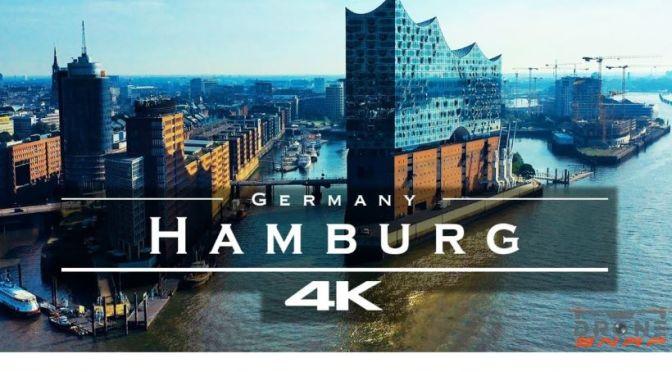New Aerial Travel Video: 'Hamburg, Germany' (2020)