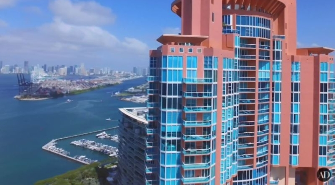 Miami Penthouse Video Tour: '2-Story Duplex In Portofino Tower' (AD)