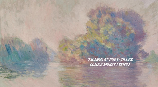 Art: Monet's 'Islands At Port-Villez, 1897' (Video)