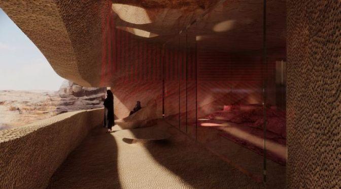 Design: French Architect Jean Nouvel's 'Cave Resort' In Saudi Arabia (Video)