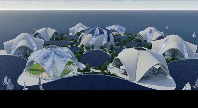 Future Of Ocean Living: 'Lillyana' – A Hydrophytic Model For Urban Design