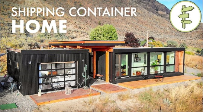 Innovative Home Tours: 'Ultra-Modern Shipping Container' – Kamloops, BC