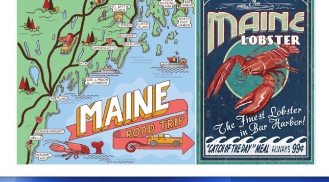 Destinations: 'Maine – The Perfect Roadtrip For Fall'